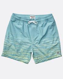 Boys' Fifty 50 Stretch Layback Boardshorts  N2LB06BIP9
