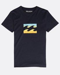 Boys' Team Wave T-Shirt  N2SS12BIP9
