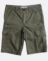 Boys' Scheme Cargo Shorts  N2WK05BIP9