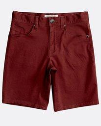 Boys' 5 Pockets Outsider Shorts  N2WK09BIP9
