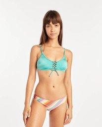 Sol Searcher Tied Trilet Bikini Top  N3ST07BIP9