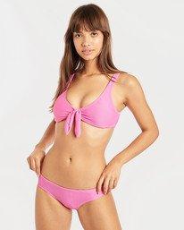 Tanlines Hanky Tie Tank Bikini Top  N3ST46BIP9