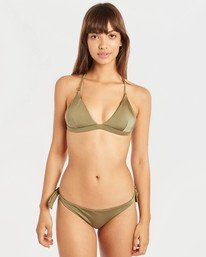 Sol Searcher Cross Back Triangle Bikini Top  N3ST49BIP9