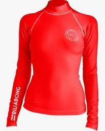 Logo In Long Sleeve Rashguard  N4GY02BIP9