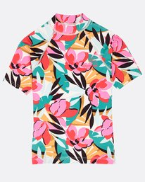 Girls' Flower Rashguard  N4KY03BIP9
