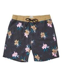 "Sundays Floral Layback 16"" Boardshorts  P1LB03BIS9"