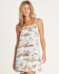 Straight Round Slip Dress  P3DR01BIS9