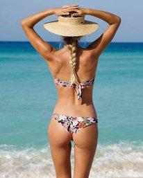 Wild Tropic Tanga Bikini Bottom  P3SB12BIS9