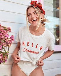 Hello Summer T-Shirt  P3SS03BIS9