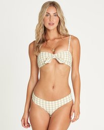 Oh So Far Mini Crop Bikini Top  P3ST03BIS9