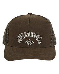 Flatwall Trucker Hat  P5CT02BIS9