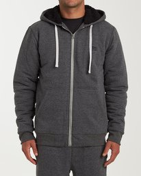 All Day - Sherpa Zip Jumper for Men  Q1FL15BIF9