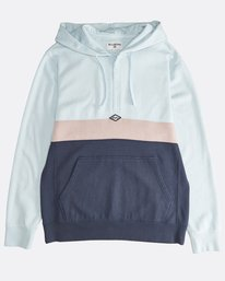 Wave Washed - Half Zip Jumper for Men  Q1FL18BIF9