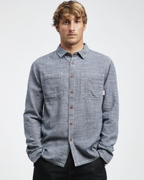 97 Workwear - Long Sleeves Shirt for Men  Q1SH09BIF9