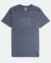Wave - Short Sleeves Tee for Men  Q1SS14BIF9