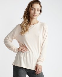 Beach Day - Long Sleeves Tee Shirt for Women  Q3LS01BIF9