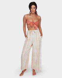 Safari Check - Trousers for Women  Q3PT31BIMU