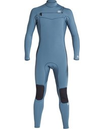 4/3mm Furnace Revolution - Chest Zip Long Sleeves Fullsuit Wetsuit for Boys  Q44B75BIF9