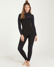 4/3mm Furnace Carbon GBS - Chest Zip Fullsuit Wetsuit for Women  Q44G31BIF9