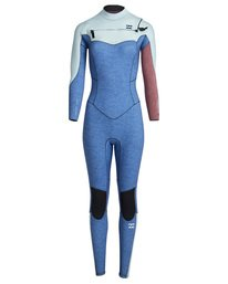 5/4mm Furnace Synergy GBS - Chest Zip Fullsuit Wetsuit for Women  Q45G32BIF9