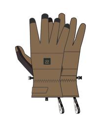 Kera - Snow Gloves for Men  Q6GL02BIF9