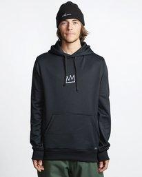 Basquiat - Thermal Fleece Hood for Men  Q6HO01BIF9