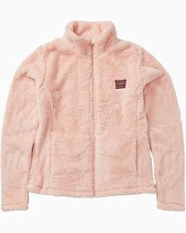 First Chair - Full Zip Sherpa Jumper for Girls  Q6SG11BIF9