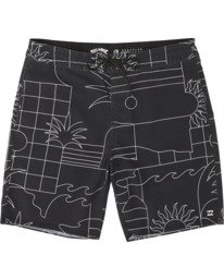 """Sundays 19"""" - Printed Board Shorts for Men  S1BS51BIP0"""