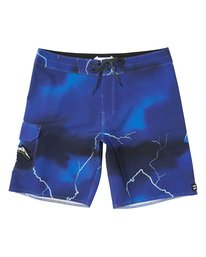 "Ride The Lightening 19"" - Printed Board Shorts for Men  S1BS82BIP0"