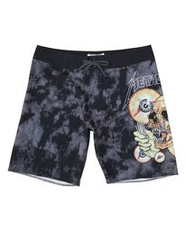 "Shortest Straw 19"" - Printed Board Shorts for Men  S1BS85BIP0"
