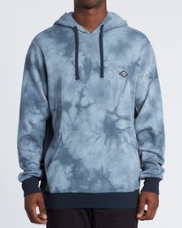 Wave Washed Pullover - Tie-Dye Hoodie Sweatshirt for Men  S1FL07BIP0