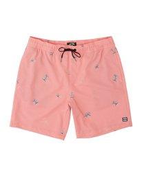 "Sundays Pigment Laybacks 17"" - Elastic Waist Board Shorts for Men  S1LB02BIP0"