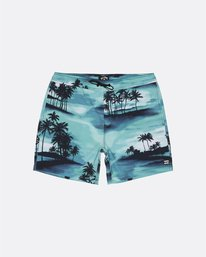 "Sundays Pigment Laybacks 17"" - Elastic Waist Board Shorts for Men  S1LB02BIP0"