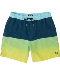 "Fifty50 Laybacks 17"" - Elastic Waist Board Shorts for Men  S1LB06BIP0"