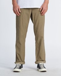 Larry Cord - Corduroy Trousers for Men  S1PT04BIP0