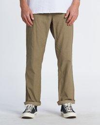 Larry Cord - Corduroy Trousers for Men  S1PT04BIP0