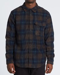 Furnace Flannel - Polar Fleece Flannel Shirt for Men  S1SH12BIP0