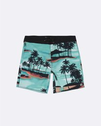 "Sundays Pro 17"" - Printed Board Shorts for Boys  S2BS15BIP0"