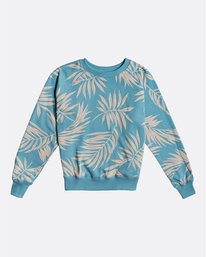 Wild Palm - Palm Print Sweatshirt for Women  S3CR11BIP0