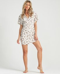 Wander Beyond - Floral Wrap Dress for Women  S3DR22BIP0