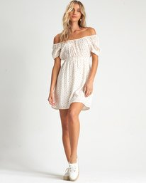 Fall For Love - Printed Mini Dress for Women  S3DR23BIP0