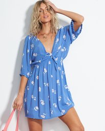 Gone Skippin - Floral Mini Dress for Women  S3DR31BIP0