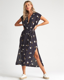 Little Flirt - Floral Midi Dress for Women  S3DR33BIP0