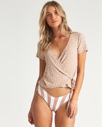 Find Me - Wrap Top for Women  S3KT20BIMU