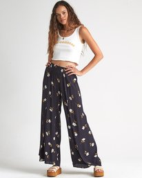 Wandering Soul - Floral Trousers for Women  S3PT06BIP0