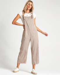 Run Wild - Cropped Overalls for Women  S3PT16BIP0