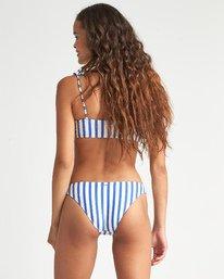 Blue By U Tropic - Striped Bikini Bottoms for Women  S3SB18BIP0
