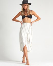Stay Sarong - Striped Wrap Skirt for Women  S3SK06BIP0