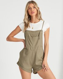 Wild Pursuit - Short Dungarees for Women  S3WK46BIMU