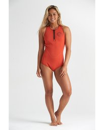 1mm Shorty - Long Jane Springsuit for Women  S41G62BIP0